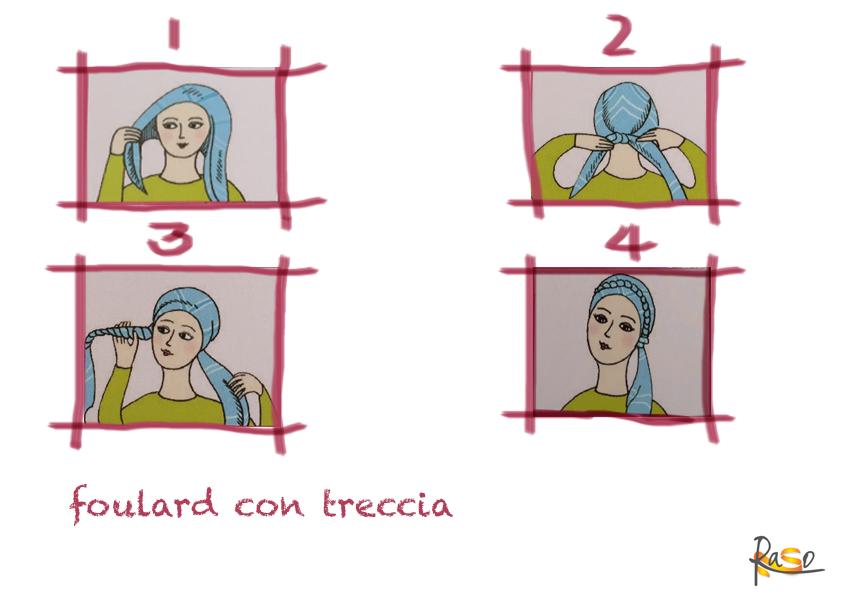 indossare foulard alopecia oncologia 4